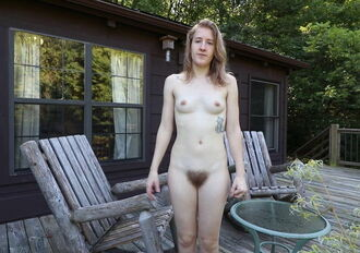 Hard ripped woman naked